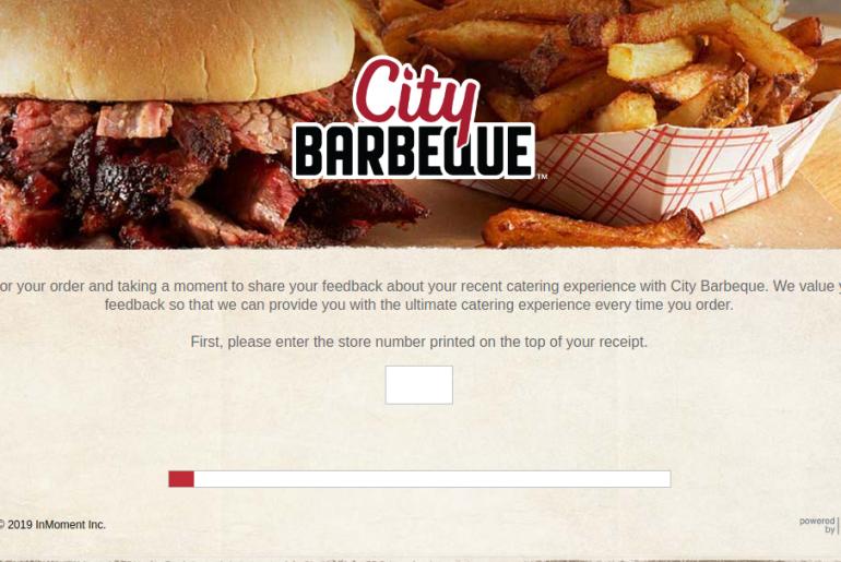 City Barbeque Survey