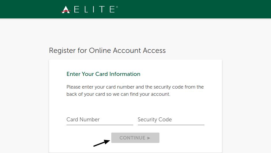 ACE Elite Prepaid Account Register