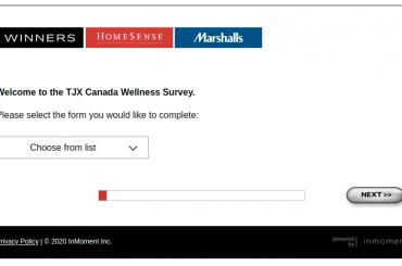 TJX Canada Wellness Survey