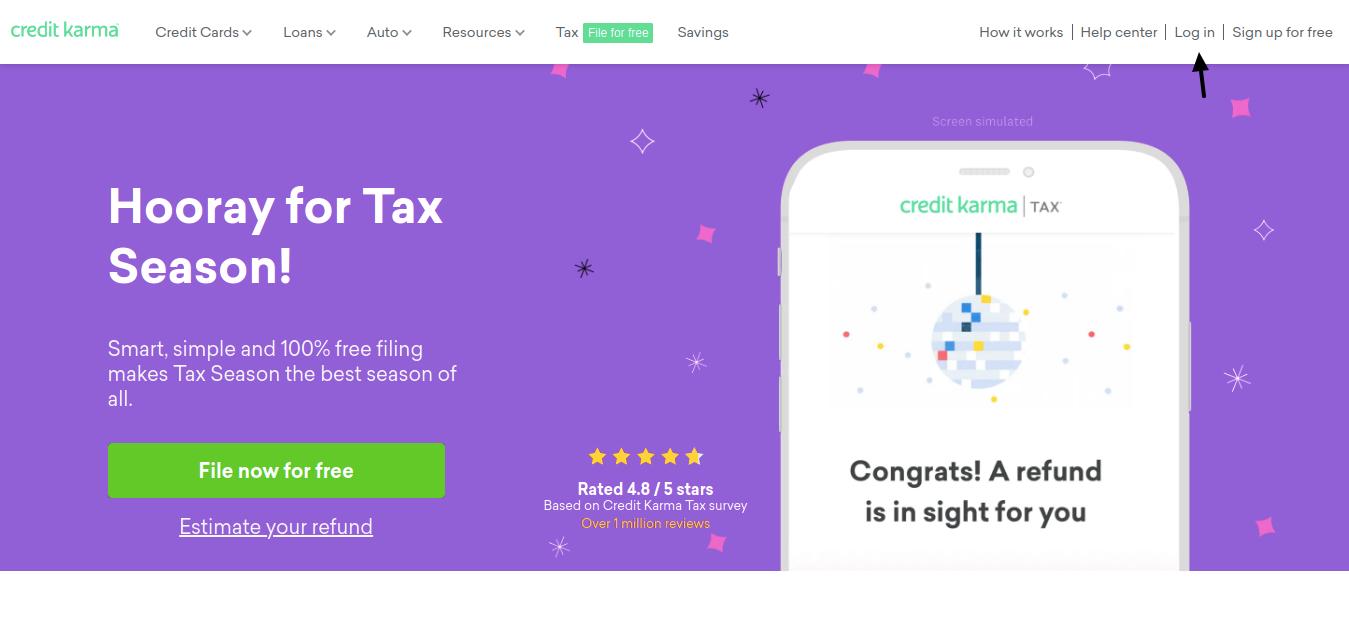 Credit Karma Tax Login