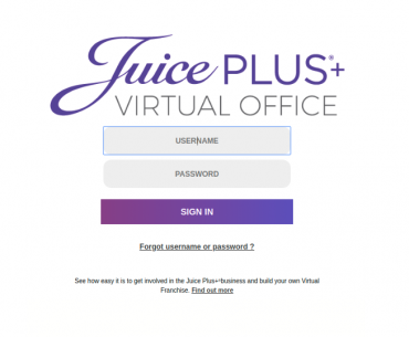 Juice Plus Virtual Office Login