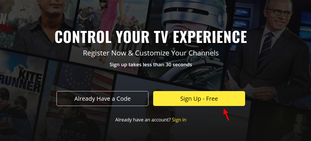 My Pluto TV Sign Up