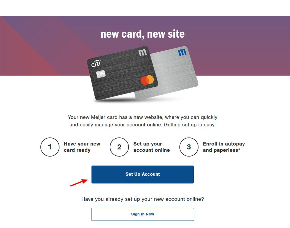 Meijer Credit Card Register