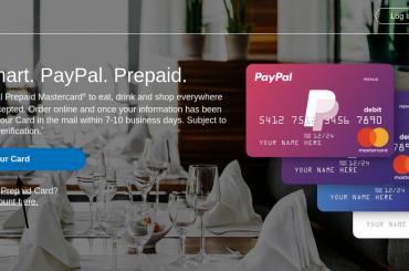 PayPal Prepaid Card Logo