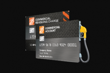Home Depot commercial credit card Logo