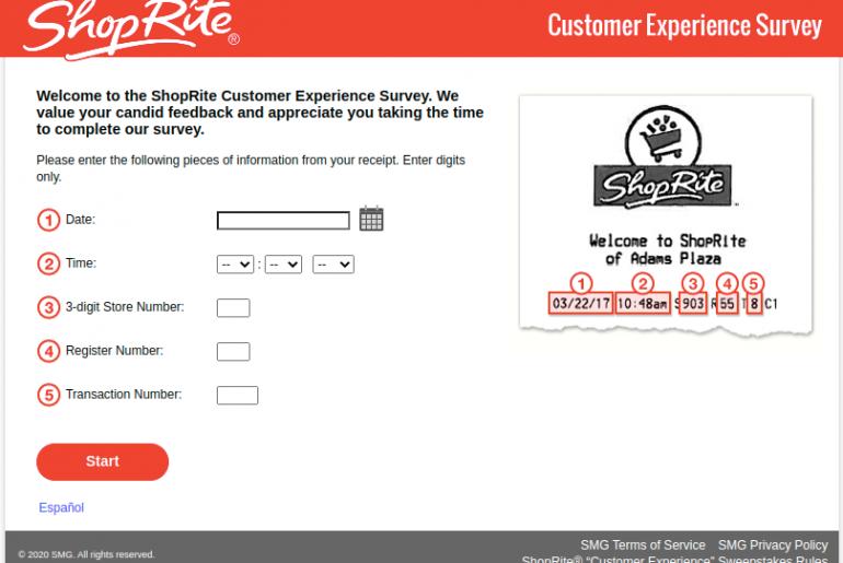 ShopRite Customer Survey