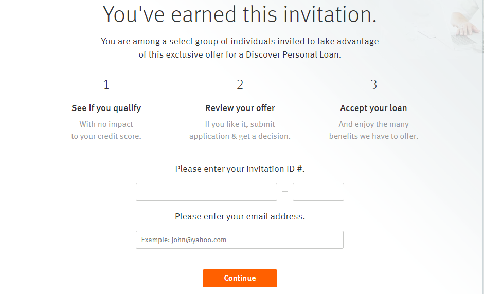 Discover Personal Loan Apply
