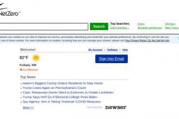 NetZero Sign In