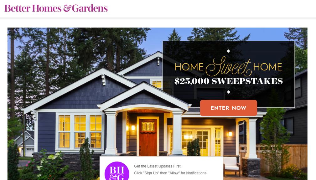 Better Homes Gardens Survey