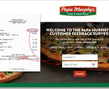 Papa Murphys Guest Survey