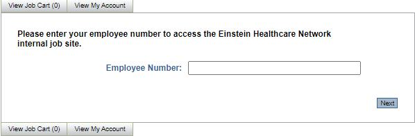 Einstein-Employee Login
