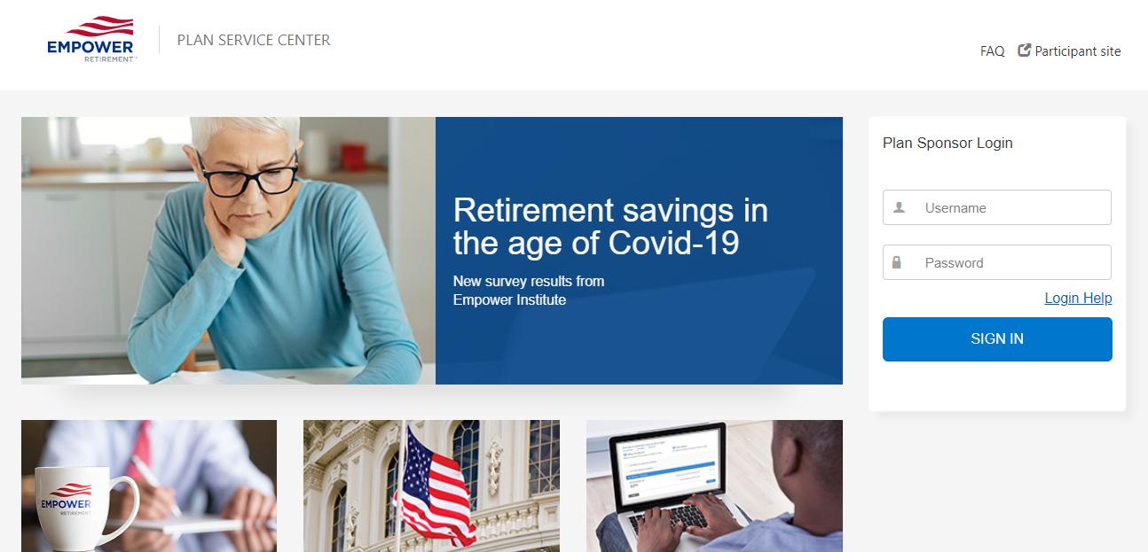 Empower Retirement Login