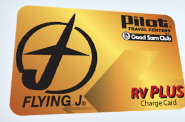 Pilot RV Plus Card Logo