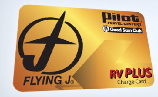 Pilot RV Plus Card Logo