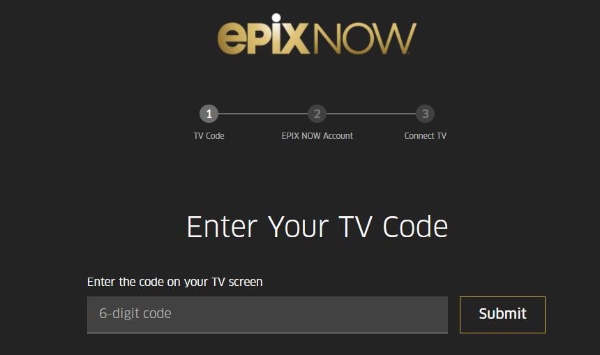 EPIX NOW Activate