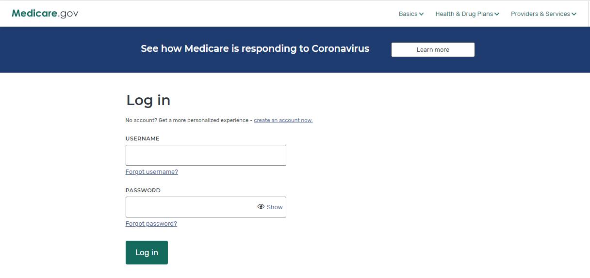 mymedicare login